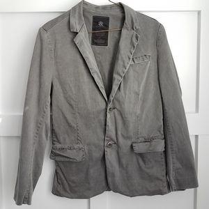 ROCK & REPUBLIC Gray Blazer M